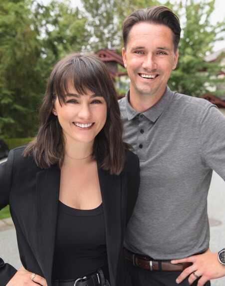 This is a picture of Monica Harmse and Lucas McCann. They have been helping many home buyers and home sellers achieve their dreams! In return, their clients have given them high praises, which helped Monica and Lucas become the top rated realtors in Port Moody, Port Coquitlam and Coquitlam!
